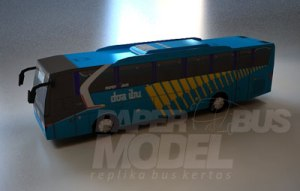 ScreenShoot Paperbus model (Legacy, Evonext, Ventura, Ueroliner, Actor)